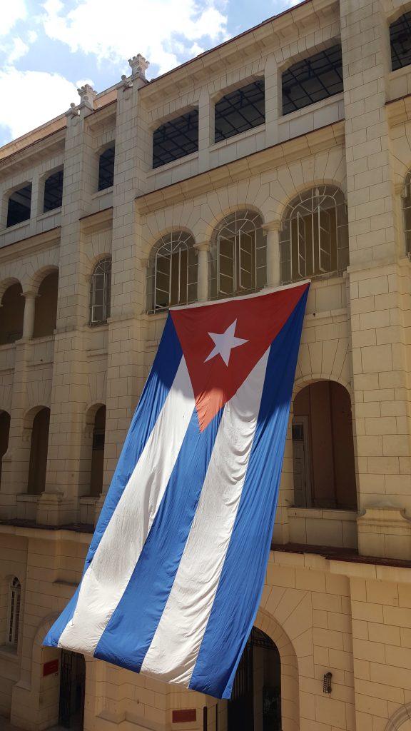 Flag Museo de la Revolucion