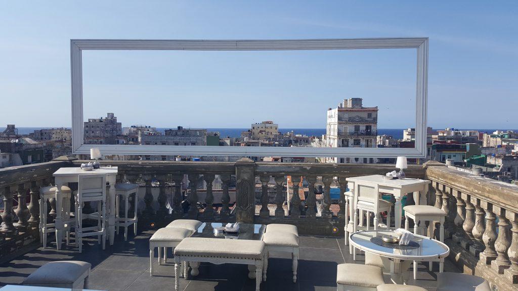 Roof terrace La Guarida