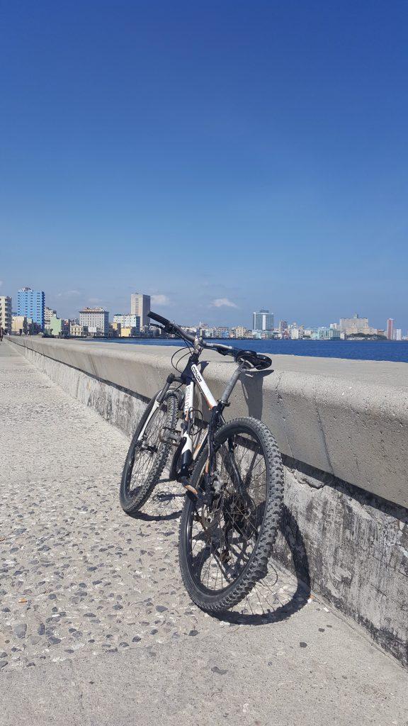 Bike on the Malecon