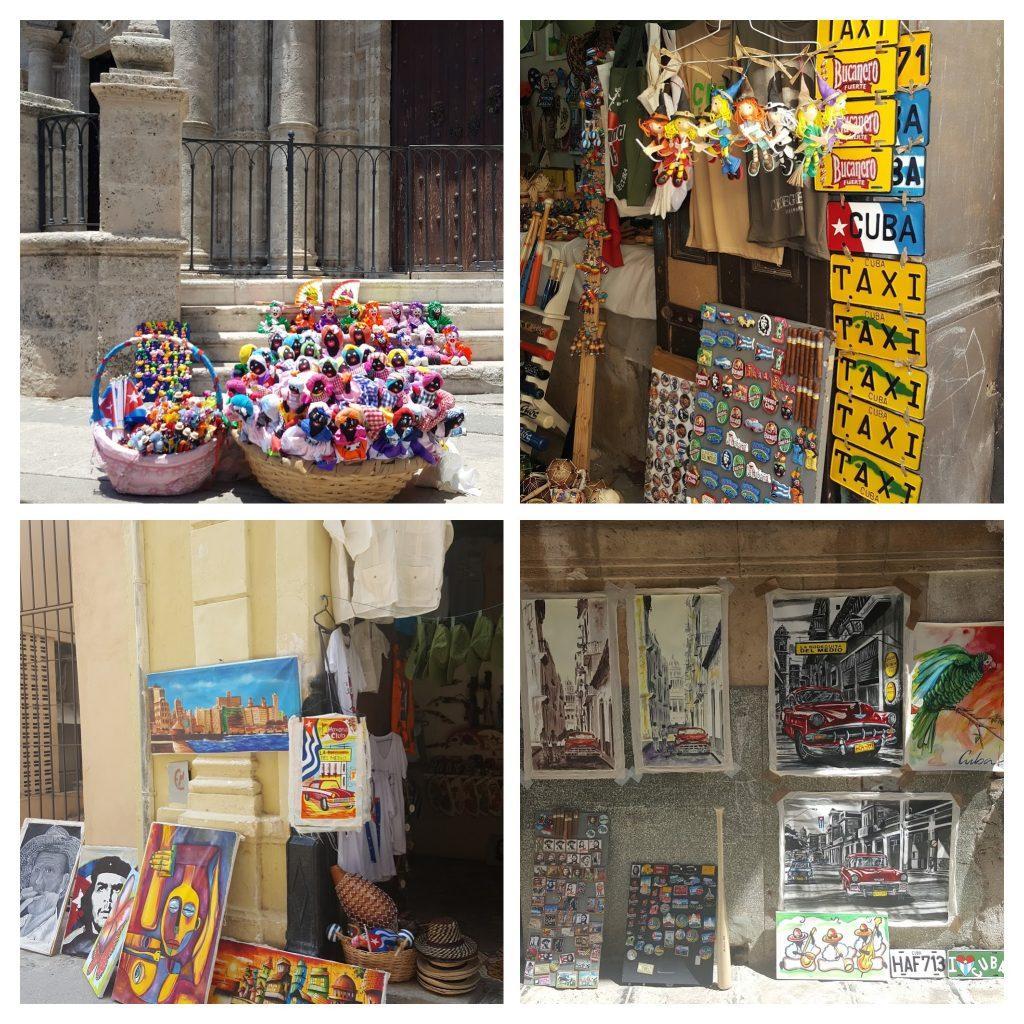 Street vendors Havana